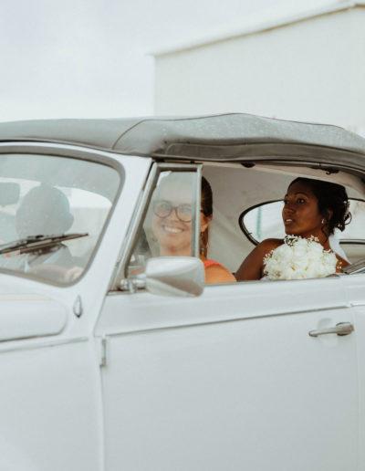 location coccinelle avec chauffeur mariage lareunion
